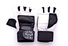 """Wrist Pad cushions the wrist during heavy lifting   Strap is made from heavy duty cotton for added strength   Entire Strap is 25.5""""/ 64.5cm long ( this allows you to wrap the bar several times )   1.5"""" wide   Black & White Skinny Chimp Logo   One size fit all"""