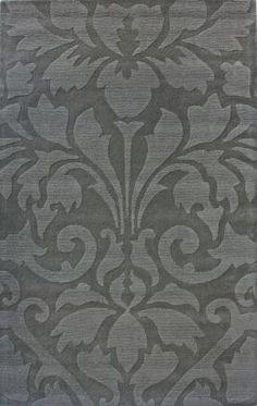 Rugs USA Spectrum Modern Damask Grey Rug