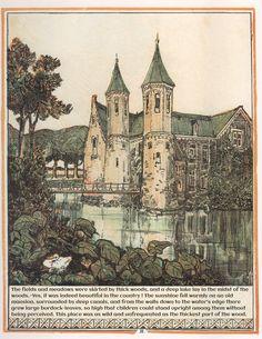 Het leelijke jonge eendje, pag. 2: naar het sprookje / van H. C. Andersen ; geteekend en gelithographeerd door T. van Hoytema,Amsterdam, C.M. van Gogh, 1893