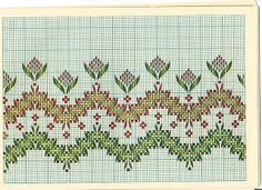 all kinds of free graphs for Swedish Weaving Swedish Embroidery, Types Of Embroidery, Diy Embroidery, Embroidery Stitches, Embroidery Patterns, Weaving Designs, Weaving Projects, Free Swedish Weaving Patterns, Huck Towels