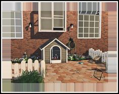 MG24 Haggys Functional Dog House Retexture 2t4            This Is A 2t4 Conversion By Haggy So Credit Goes To Her     This Mesh Was, Retext...
