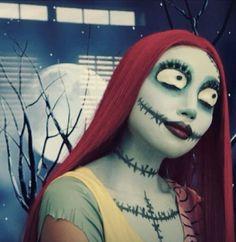 Nightmare Before Christmas Sally Makeup