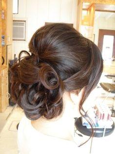 Wedding #updo #hair #miami #salon