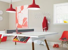Bola Service Ping Pong Table - Design Within Reach: Designed by Antoni Palleja Office for RS