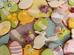 Easter cookies by bubolinkata, via Flickr