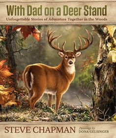 With Dad on a Deer Stand Gift Edition Book #deerhuntingblinds #deerhuntinggear