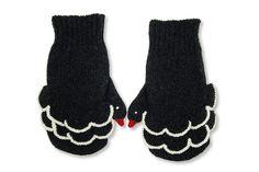 black swan mittens x