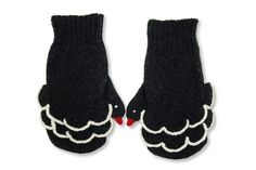 black swan mittens?  that movie was creepy enough, I don't need to be reminded every time my hands get cold.