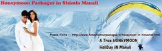 Manali is a very preferable option for honeymooners, as of its peaceful and great romantic ambiance and scenery. If you really want to make your honeymoon extraordinary then Honeymoon in Manali package at exotic India journey is best for you..... http://www.himachaltourpackages.in/honeymoon-in-himachal.html