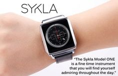 CLICK HERE to support Sykla - The Elegant Smart Watch