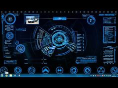 ▶ Jarvis 4.0 + Iron Man Mark 7 HUD - YouTube
