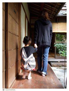 風呂敷のある風景 1|風呂敷いろいろ 京都 掛札