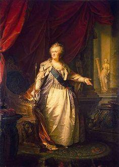Лампи, Иоганн-Баптист Старший - Портрет Екатерины II