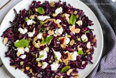 This quick red cabbage recipe is worthy of side dish fame on your dinner table. It's a great choice for entertaining with its vibrant colors and unique flavors, or it can easily be served on its own for a light dish. It's versatile, and will pair well with protein if you so desire. If you're