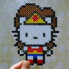 Instagram photo by @j_minseon (90.06.13 전민선) | Iconosquare ~ Wonder Woman Hello Kitty ~ OS