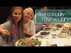▶ Eating Socially on a Low Fat Raw Vegan Diet - YouTube