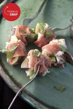 Foodblogswap november: hapje met vijg, mozzarella en Parmaham - Hap & Tap