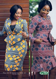 """""""The joy of dressing is an Art"""" - John Galliano. Have a lovely week. Wear it with style. African Fashion Ankara, African Inspired Fashion, Latest African Fashion Dresses, African Dresses For Women, African Print Dresses, African Print Fashion, Africa Fashion, African Attire, Ghanaian Fashion"""