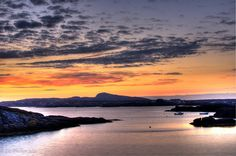 Another sunset in Trearddur Bay Anglesey