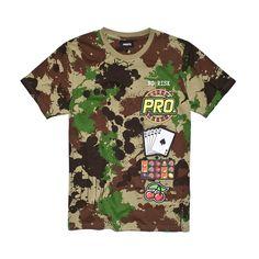 Koszulka RULET CAMO Koszulka wykonana z najlepszej jakości bawełny. Z przodu koszulki grafika. Mens Tops, T Shirt, Fashion, Supreme T Shirt, Moda, Tee Shirt, Fashion Styles, Fashion Illustrations, Tee