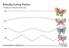 Butterfly cutting practice                                                                                                                                                      More