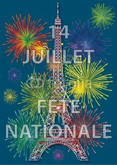 14 juillet, fête nationale française-David's Birthday!  aka Bastille Day