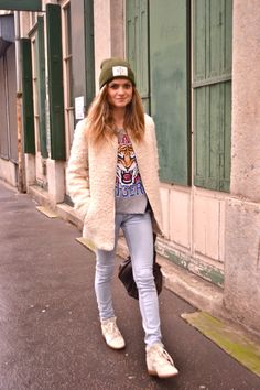 Look Free Friday / Streetstyle / Casual #look #blogmodelyon #frenchblogger #mode #ootd #outfit #lyon  http://www.marieandmood.com/