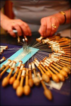Bruges -   lace making