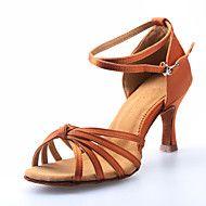 Sapatos de Dança Latina de Mulher em Cetim Franzi... – EUR € 7.39