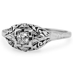 <3 the name, love the ring! The Soprano Ring from Brilliant Earth