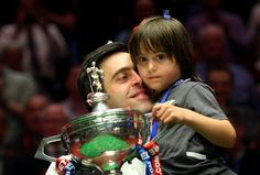 Ronnie O'Sullivan wins the 2012 Betfred World Snooker Championship Snooker Championship, Ronnie O'sullivan, Sister Love, Father And Son, The Life, Baby Love, In This Moment, World