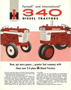 1960 Farmall and IH 340 Diesels