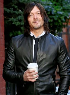 Norman Reedus during his photoshoot for 'Men's Fitness' on November 30, 2015 in New York City. Sweet