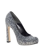 Dune Bo Sequin Court Shoes