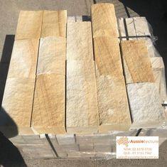 Australian sandstone split blocks.  Ideal for garden edging and retaining wall projects.  sales@aussietecture.com.au  P : 02 8378 0730 Stone Supplier, Garden Edging, Garden Stones, Garden Landscaping, Landscape, Wood, Projects, Design, Stones For Garden