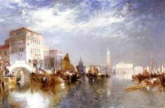 famous paintings of venice