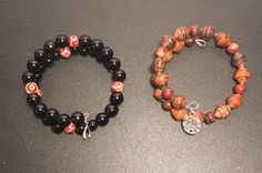 Hand Made Bead Bracelets #Handmade #Beaded