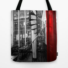 The Door Tote Bag by Angelika Kimmig - $22.00