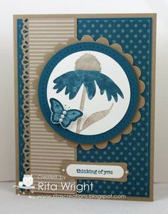 DD9: Island Indigo Flowers by kyann22 - Cards and Paper Crafts at Splitcoaststampers