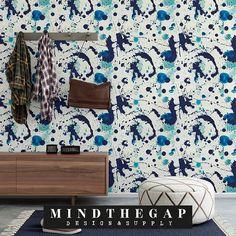 Splatters tapettipaneeli Designer Wallpaper, Gap, Artsy