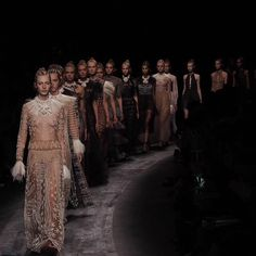Valentino's tribal Spring 2016 collection was utterly beautiful. See it from the front row on wmag.com.