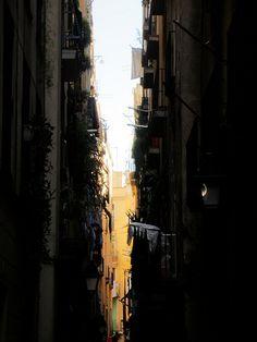 Barcelona alley way