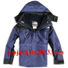 The North Face Outlet Kids Gore Tex Xcr Jacket Navy Black