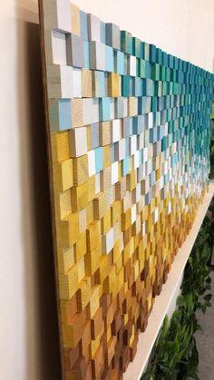 3d Wall Art, Colorful Wall Art, Large Wall Art, Art 3d, Wall Murals, Decoration Restaurant, Abstract Canvas Art, Abstract Paintings, Plakat Design