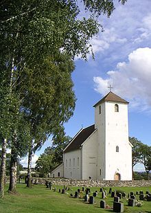 Hoff CHURCH and Cemetery, Oppland County, Norway where my great grandfather emigrated from.  Lom?)