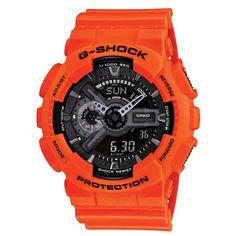 Casio G-Shock GA-110MR-4AER | Oranje rescue @Kish.nl