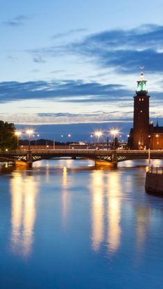 Stockholm Sweden iPhone 5 wallpapers