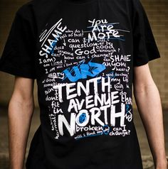Cool shirts on pinterest hunger games shirt shirts and for Tenth avenue north t shirts