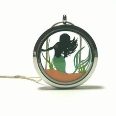 The Little Mermaid Large Papercut Pendant Mermaid Under The Sea, The Little Mermaid, Paper Cutting, Fairy Tales, My Etsy Shop, Pendants, Check, Gifts, Shopping