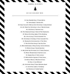 Holiday Playlist | Damsel in Dior